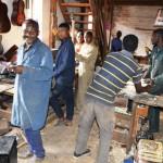 Die Gitarren aus der CAPA-Werkstatt sind immer noch sehr gefragt, vor allem bei protestantischen Gemeinden...